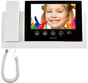 hs72m100 simaran video door phone 300x284 - آیفون تصویری